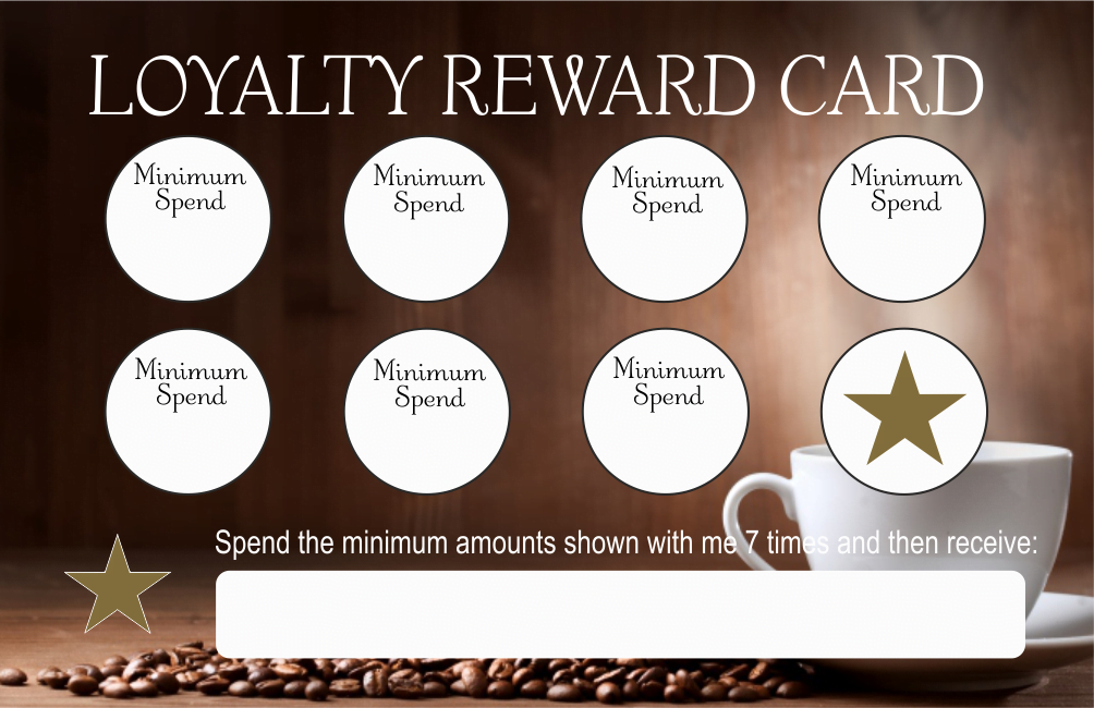 business plan on loyalty cards Giving customers the extra motivation to return to your business will increase your sales and increase the number of returning customers news of your customer loyalty cards might even spread by word of mouth to help you gain new customers too.