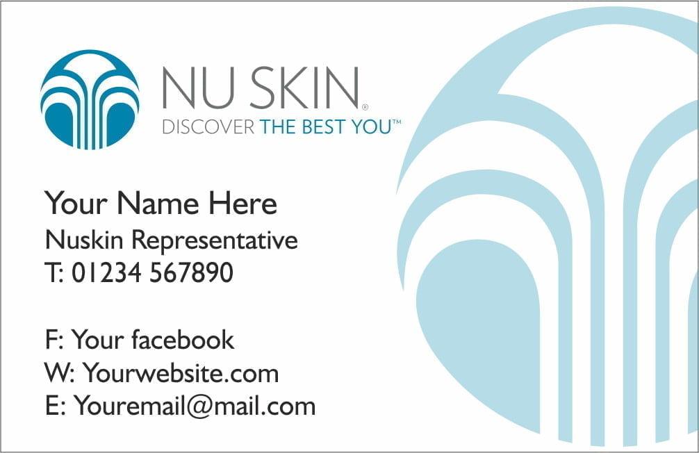 Nuskin Business Cards 1