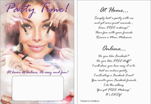 Party Blitz Cards Invites x 50 + party idea ebook