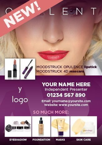 Younique Flyer Opulent Lipstick, 4D Moodstruck Mascara