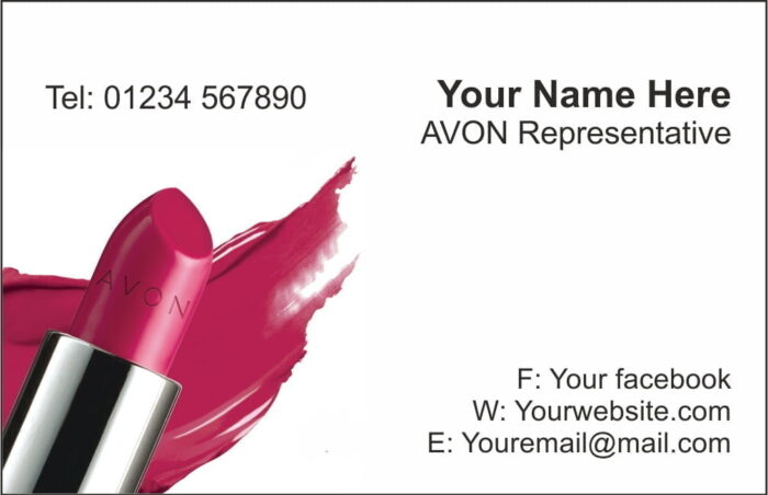 AVON Business Cards - Style2
