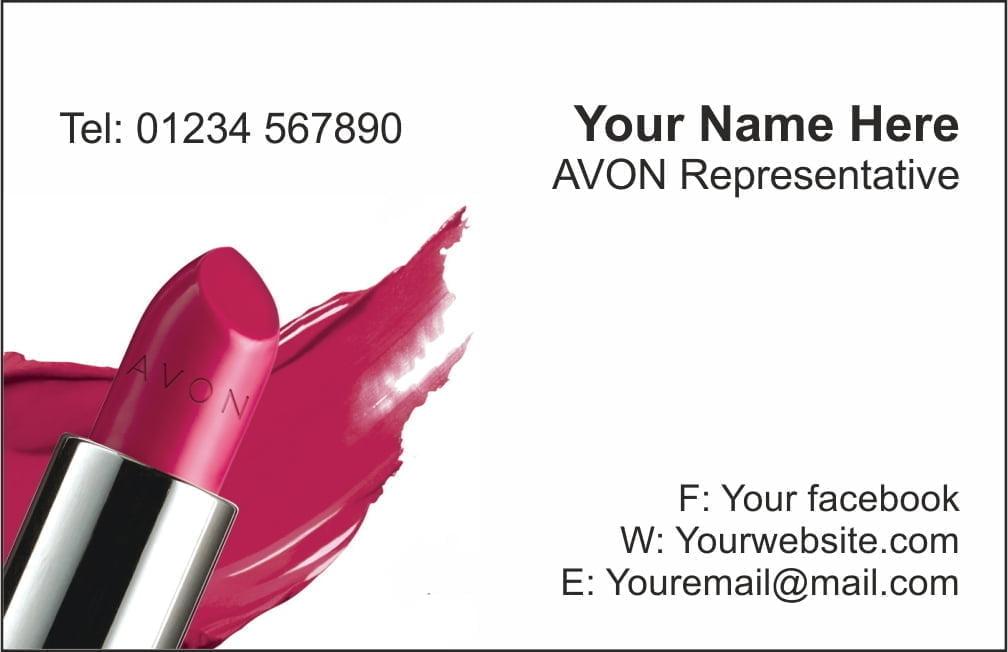 avon card2