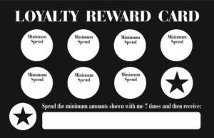 FMW Loyalty Cards