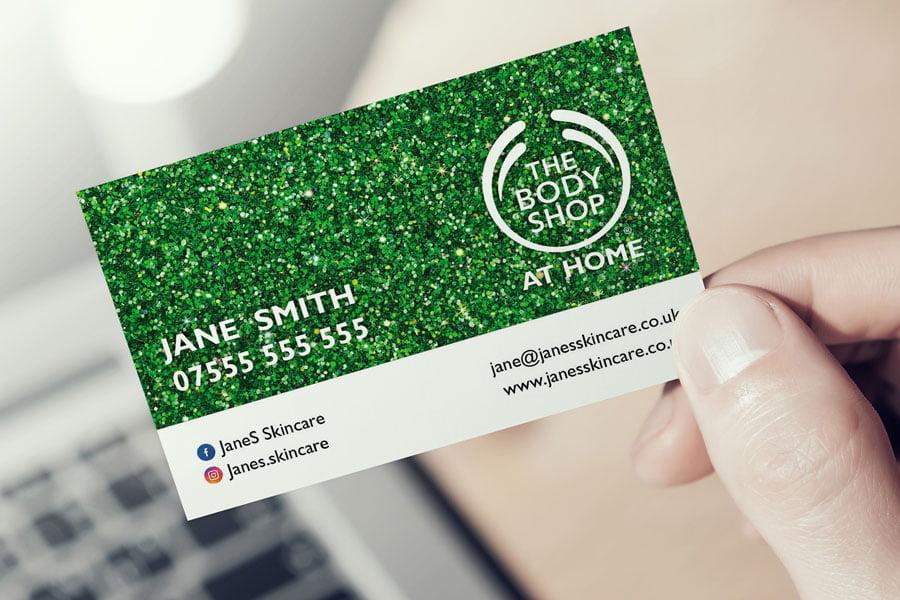 Glitter-landscape-bus-Card-in-hand