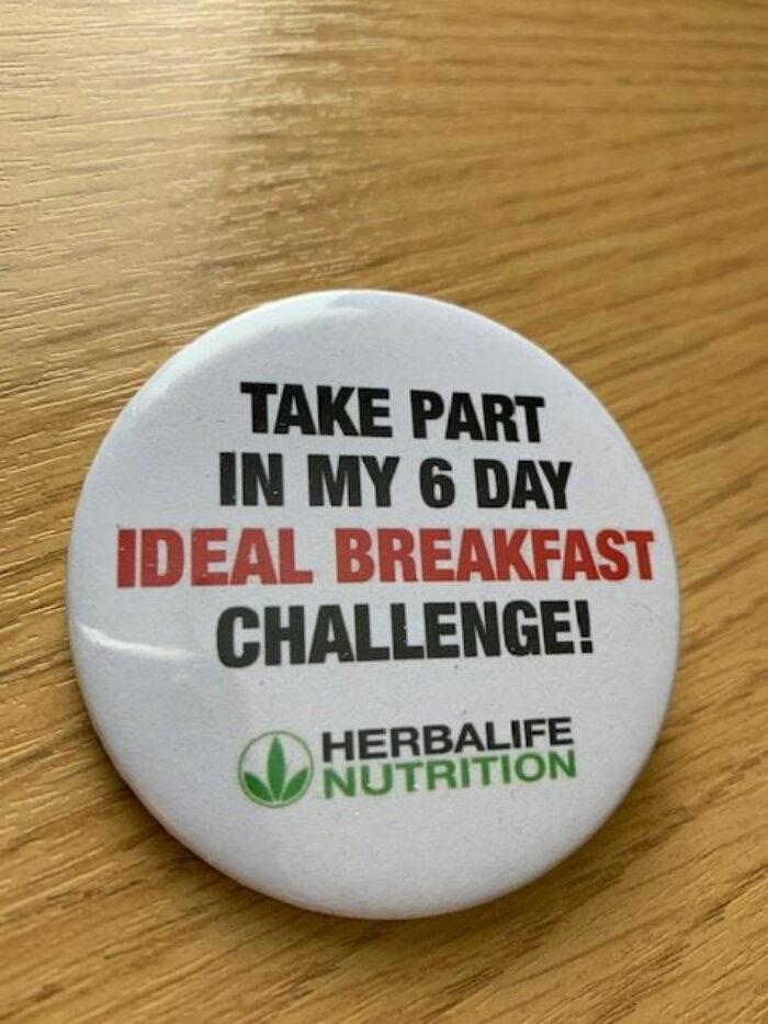Herbalife Badges 6Day Challenge? X 10 badges