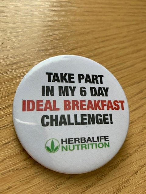 Herbalife Badge 6day