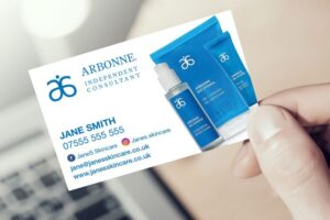 Arbonne Business Cards UK