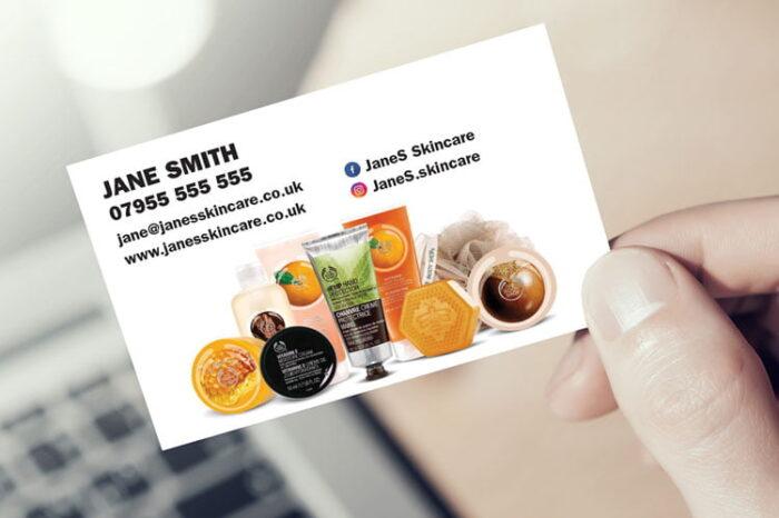 Body Shop At Home Business Cards - Hero (No logo)