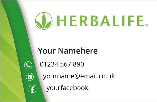Herbalife-Card-Green-Wave-back