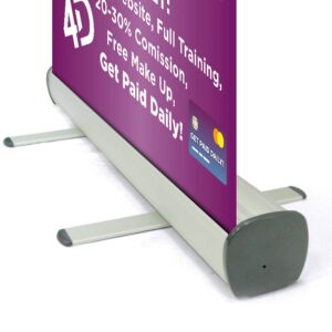 Roller Banner 800 x2000mm Personalised for your event.