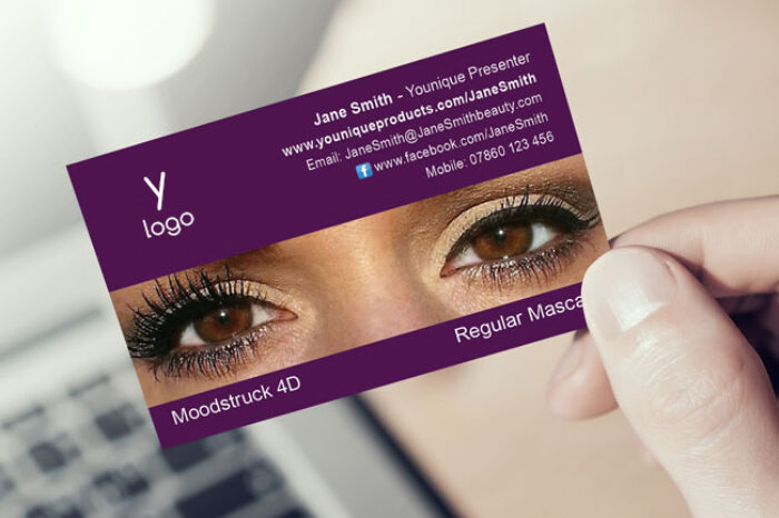 Younique Presenter Business Cards (4D Design 1)
