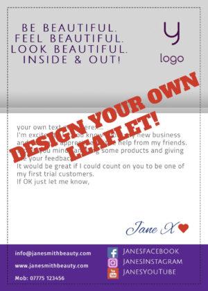 A5 Leaflet Younique Flyer