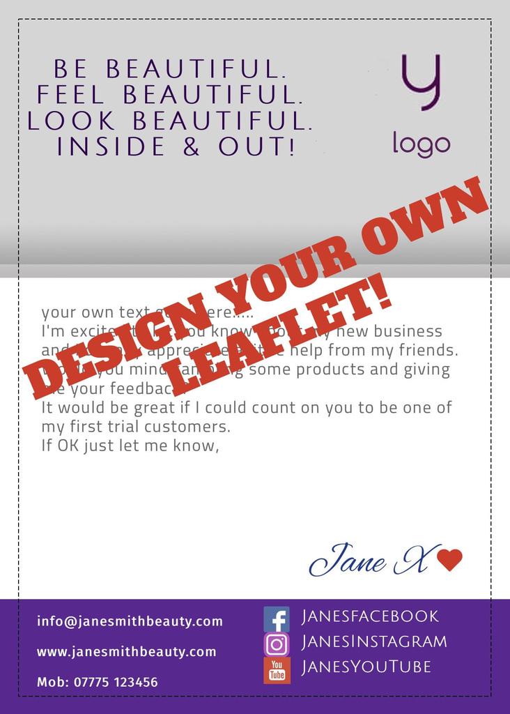 Flyer Online Design Y