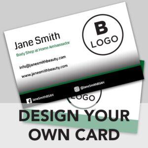 BSAH business card online design