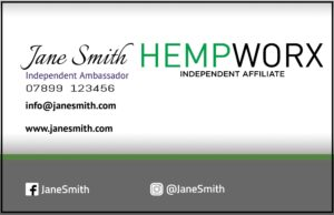 Hempworx Business Cards from £7.95