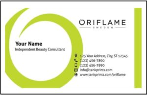 Oriflame Business Cards From £7.95