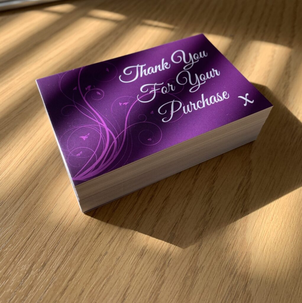 Purple Thanks